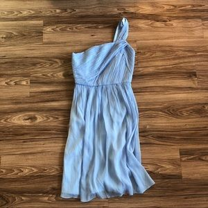 J. Crew one shoulder dress! Size 2